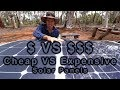 Cheap VS Expensive Solar Panels 12v Touring Project Cyan