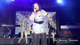 Jenny Berggren from Ace of Base live in New York singing Never Gonna Say I'm Sorry