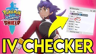 HOW TO UNLOCK THE IV CHECKER - Pokemon Sword and Shield