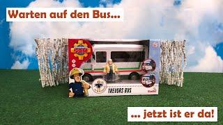 Unboxing 20 - Trevors Bus - 109251073 - Simba Toys - Feuerwehrmann Sam