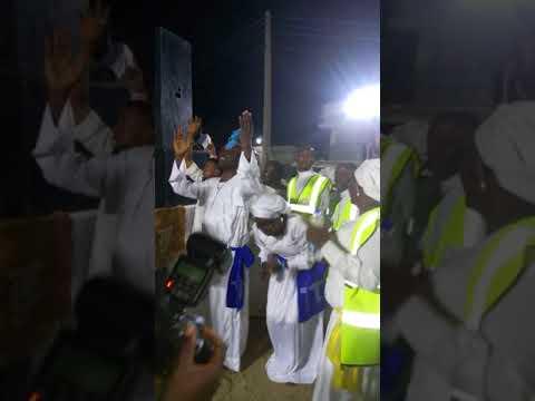 Baba Rehoboth dancing with Moses Harmony @ the 2018 Testimony Night