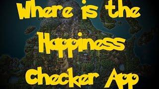 Where Is: The Happiness Checker App (Pokemon Diamond/Pearl/Platinum)