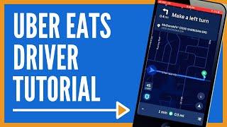 Uber Eats Driver Tutorial 🚗🚗