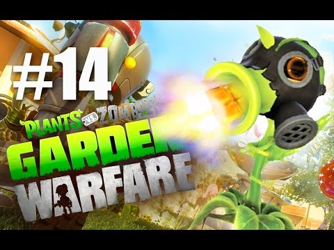ТОКСИК! #14 Plants vs Zombies: Garden Warfare (HD) играем первыми
