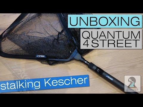 Quantum 4 Street Stalking Kescher (Landing Net) - Unboxing l Tackle Clip l 2019
