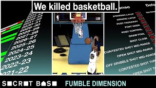 We destroyed the NBA's future with a video game | Fumble Dimension Episode 1 thumbnail