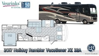 For Sale: 2017 Holiday Rambler Vacationer XE 32A Overview   Grand Rapids, MI - (616) 965-9605