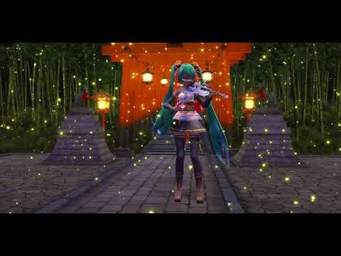 MMD - Senbonzakura - Violin Version + DL - Carmen Vocaloid - Video