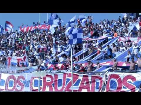 """""""BANDERAZO UC - CC CLAUSURA 2015-16"""" Barra: Los Cruzados • Club: Universidad Católica"""
