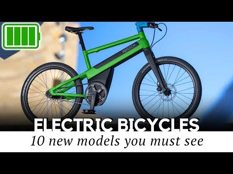 Top 10 All-New E-Bikes that Offer High Tech Features in 2020