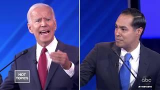 Julian Castro Questions Joe Biden's Memory | The View