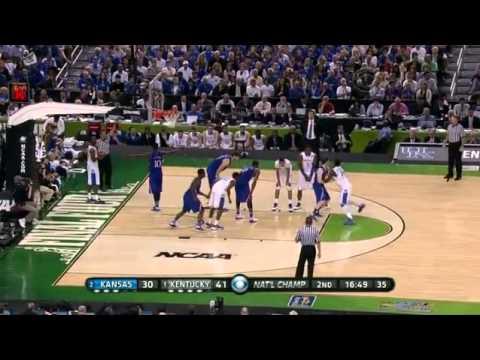 1 Kentucky vs 2 Kansas | 4/2/2012 | NCAA Men's Basketball National Championship Final