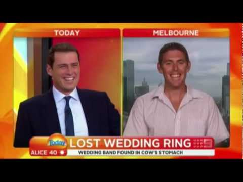 Farmer accidently says a raunchy joke on Australian TV