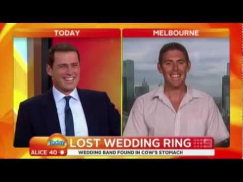 Farmer accidently says a raunchy joke on Australian TV