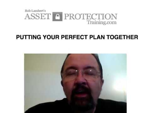 Perfect Asset Protection Plan Trust - Asset Protection Training ...