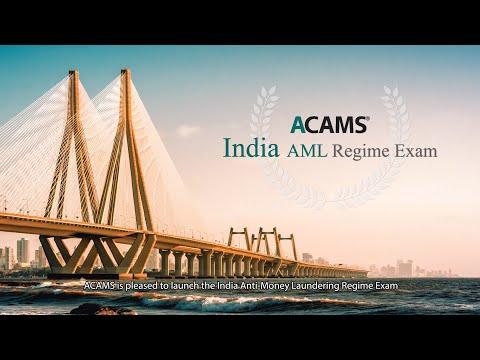 ACAMS India AML Training Program - Basic - YouTube