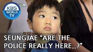 """Seungjae """"People without passports can"""