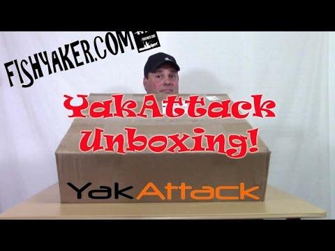YakAttack Kayak Fishing Accessory Unboxing: Episode 320