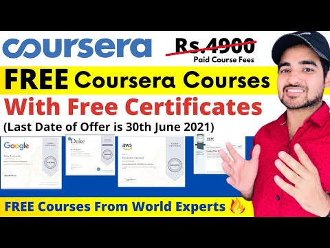 64+ Coursera Free Certification Courses 2021 | Free Coursera ...