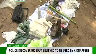 Police uncover Ritualist den in Ekiti