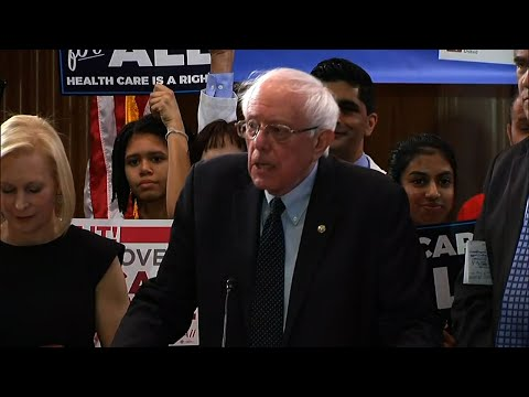 "Sen. Bernie Sanders of Vermont unveiled a new version of his ""Medicare for All"" plan on Wednesday, shaking up the 2020 presidential election by reopening the debate over his call to eliminate private health insurance. (April 10)"