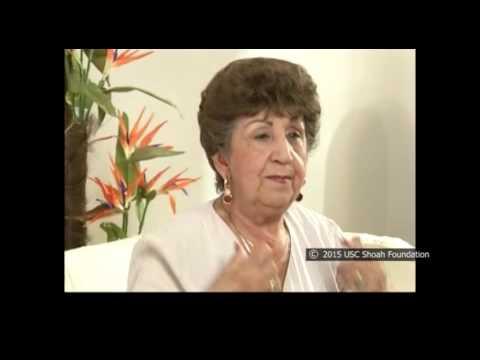 Pauline Kleinberg, sobreviviente del Holocausto recuerda la humillante selección en el campo de Grünberg