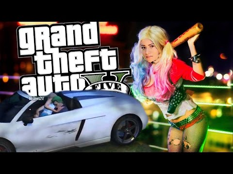 I CAUGHT HIM IN THE ACT!! | GTA 5 With My Boyfriend! Suicide Squad Funny Moments & Fails