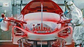 McLaren Production Line – English Car Factory