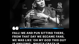 Fat Joe shares the story about the moment he became an Eminem fan