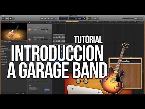 Como usar Garage Band TUTORIAL – Introducción