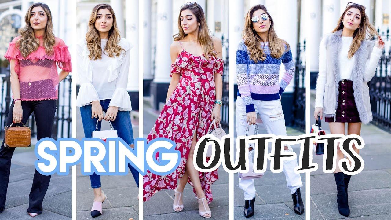 SPRING TRENDS 2017! 5 Spring Outfits   Amelia Liana