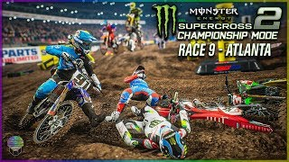 TRIPLE CROWN COMEBACK! | Race 9 | Monster Energy Supercross 2 Championship Mode