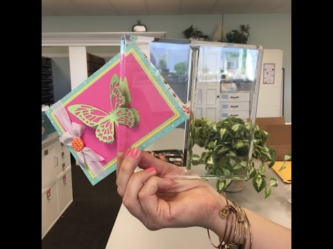 Creating 3-D Shapes with Sizzix Dimensional Cutting Pads