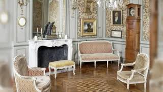 Interior Design-French Country Interiors-antiques -arts-historical Places-french Livingrooms