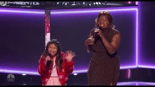 Angelica Hale Kechi And <b>Kelly Clarkson</b> NAIL IT TOGETHER On America´s Got Talent 2017
