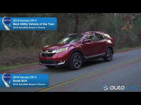 2018 Honda CR-V Wins AutoWeb Buyer