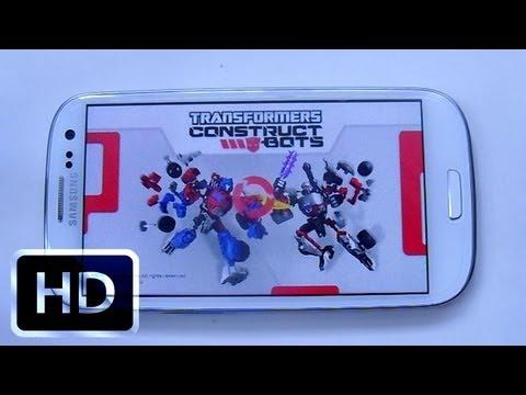 Vidéo Transformers Construct-Bots