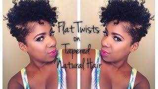 How to Style Tapered Natural Hair