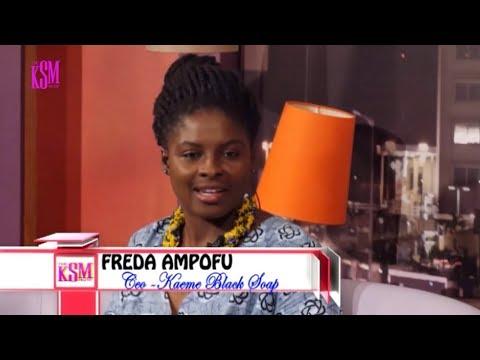 Innovation: KSM interviews CEO of Kaeme, Freda Obeng-Ampofo
