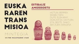 """Estibaliz Amorrortu: """"Hiztun berriek erabiltzen dute euskara?: Hizkuntza-ohitura eta beste gako batz"""