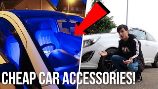 BUYING CHEAP *AMAZING* CAR ACCESSORIES! 😍