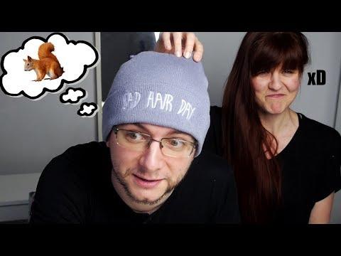 Wypadanie włosów samouczki wideo