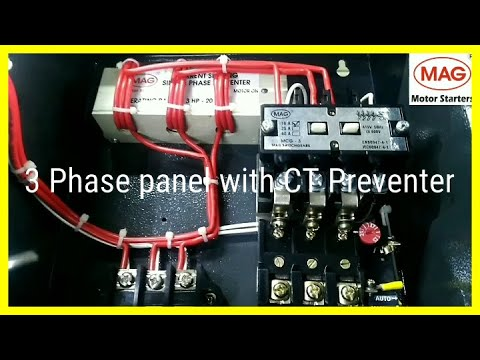 THREE PHASE PANEL WITH CT PREVENTER