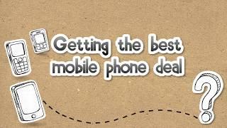 Getting the best mobile phone deal - Moneysmart Rookie
