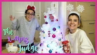 Η Αντωνία κρίνει τα Χριστουγεννιάτικα στολίδια μου | katerinaop22