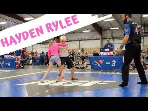 Brazilian Jiu Jitsu Girl Vs. Boy Wrestler