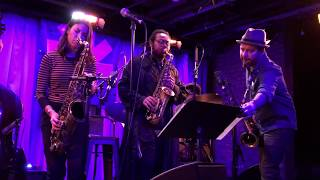 Melissa Aldana Quartet With Guests Jure Pukl And Immanuel Wilkins Set Closer New York City 152019