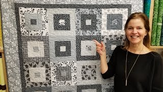 Simple. Modern. Elegant. It's Hip to be Square Quilt! Free Pattern   New Giveaway :)