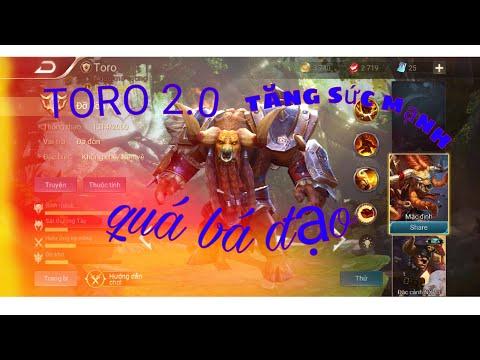 Liên quân: cách lên đồ toro bản 2.0 ăn mạng như sát thủ |tokuda