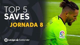 LaLiga TOP 5 Saves Matchday 8 LaLiga Santander 2021/2022